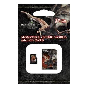 Monster Hunter World Micro SDHC card (16GB) + SD adapter set [Goods / Electronics]