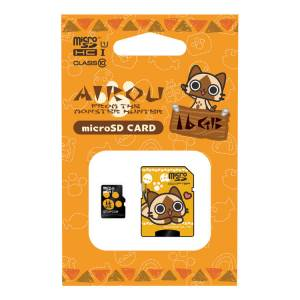 Monster Hunter - Airou Micro SDHC card (16GB) + SD adapter set [Goods / Electronics]