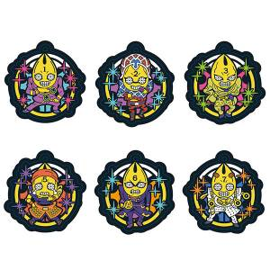 Rubber Mascot JoJo's Bizarre Adventure Golden Wind Stand-tachi no Kimyona Costume! Hen 6 Pack BOX [Goods]