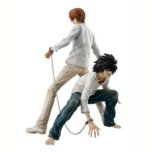 DEATH NOTE - Yagami Light Yagami & L Limited SET [G.E.M.]