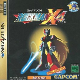 Rockman X4 / Megaman X4 [SAT - Used Good Condition]