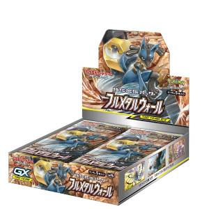 "Pokemon Card Game Sun & Moon Strength Expansion Pack ""Full Metal Wall"" 30Pack BOX"
