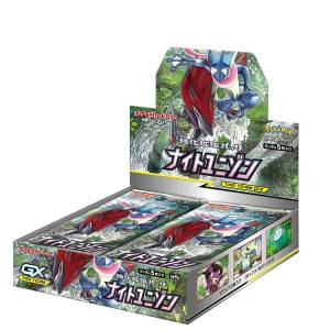 """Pokemon Card Game Sun & Moon Strength Expansion Pack """"Night Unison"""" 30Pack BOX"""