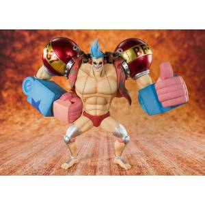 FREE SHIPPING - One Piece - Iron Man Franky [Figuarts ZERO]