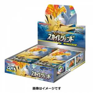 "Pokemon Card Game Sun & Moon Strength Expansion Pack ""Sky Legend"" 30Pack BOX"
