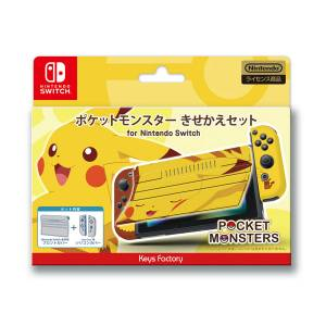 FREE SHIPPING - Pokemon Dress Up Set for Nintendo Switch Pikachu Ver. [Switch]