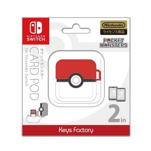 FREE SHIPPING - Pokemon Card Pod for Nintendo Switch Pokeball Ver. [Switch]