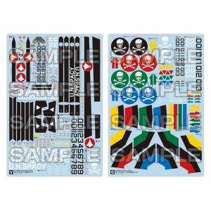 Macross: Do You Remember Love? - VF-1 Decals: DX Ver. [PLAMAX]
