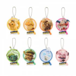 Pokemon: Detective Pikachu -Acrylic Charm Collection [Goods]