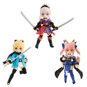FREE SHIPPING - Desktop Army Fate/Grand Order Vol.3 3 Pack BOX [MegaHouse]