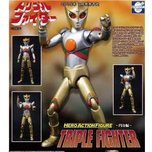 HAF (Hero Action Figure) Triple Fighter [EVOLUTION TOY]