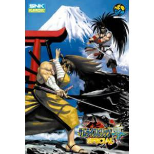 Samurai Spirits 0 Special / Samurai Shodown V Special (Unfixed) [NG AES - Used Good Condition]