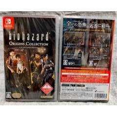 FREE SHIPPING - Biohazard Origins Collection / Resident Evil Origins Collection (Multi Language) [Switch]