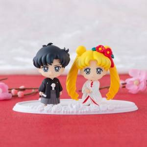 Pretty Soldier Sailor Moon - Happy Wedding Shiromuku ver. Ver. Limited Edition [Petit Chara / Megahouse]