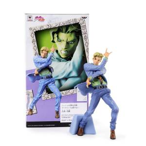 JoJo's Bizarre Adventure Diamond Is Unbreakable - Jojo's Figure Gallery 5 xDiamond Records - Yoshikage Kira  [Banpresto]
