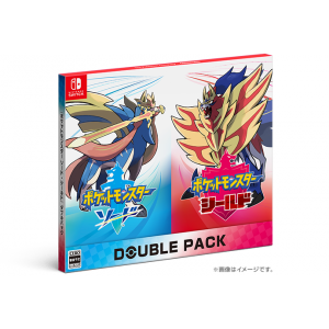 FREE SHIPPING - Pokemon Sword & Shield Double Pack (Multi Language) [Switch]