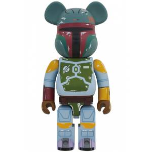 BE@RBRICK / Bearbrick 1000% BOBA FETT First Appearance Ver. - STAR WARS [Medicom Toy]