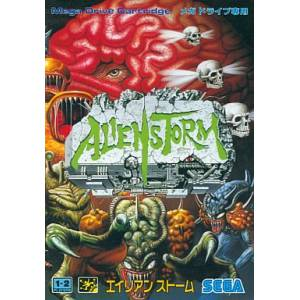 Alien Storm [MD - Used Good Condition]