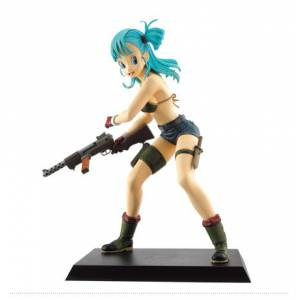 Dragon Ball Makafushigi Adventure - Bulma B Price - Ichiban Kuji [Banpresto] [Used]