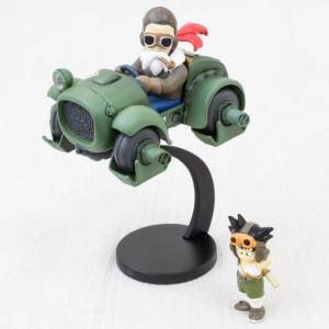 Dragon Ball Museum Collection 3 - Goku & Kame Sennin in Minakami Buggy [Banpresto]