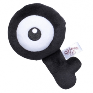 Plush Pokémon fit Unown Q