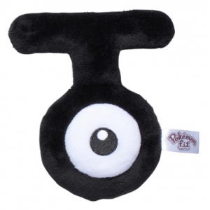 Plush Pokémon fit Unown T