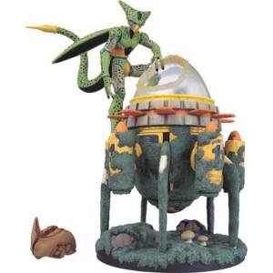 Dragon Ball Museum Collection 12 - Cell & Time Machine [Banpresto] [Used]