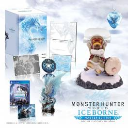 Monster Hunter World: IceBorne Master Edition Collector's Package Otomo Airou Stand e-Capcom Limited Edition [PS4]