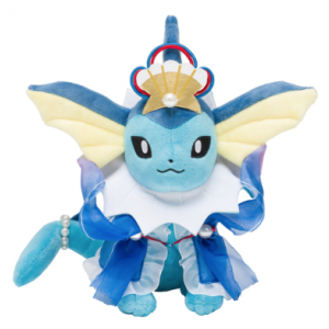 Plush Pokémon Vaporeon Oceanic Operetta - Pokemon Center Limited [Goods]
