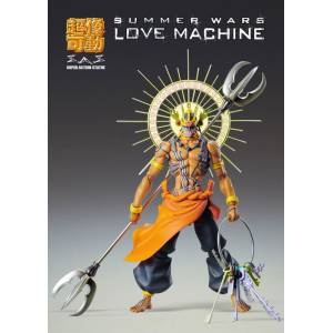 FREE SHIPPING - Summer Wars Love Machine [Super Action Statue]