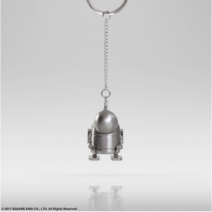 NieR Automata - Metal key chain Machine (silver color) Square Enix limited [Goods]