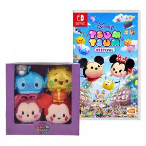 Disney Tsum Tsum Festival - Limited Plush Set [Switch]
