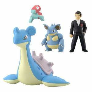 Pokemon Scale World - Kanto Sylph Company Set Limited Edition [Bandai]