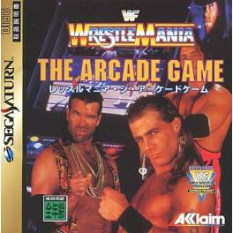 WrestleMania - The Arcade Game [SAT - Used Good Condition]