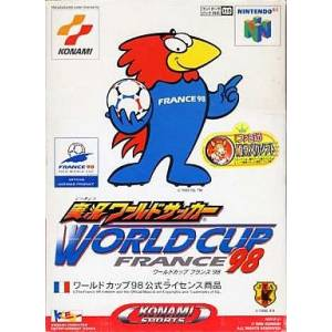 Jikkyou World Soccer - World Cup France '98 [N64 - occasion BE]