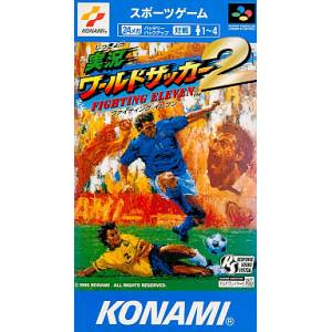 Jikkyou World Soccer 2 - Fighting Eleven / International Superstar Soccer Deluxe [SFC - Used Good Condition]
