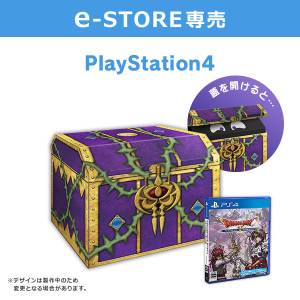 Dragon Quest X Ibara no Miko to Horobi no Kami Online - Treasure Chest Square Enix e-store Limited Edition [PS4]